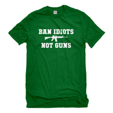 Mens Ban Idiots Not Guns Unisex T-shirt