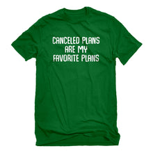 Mens Canceled Plans Unisex T-shirt