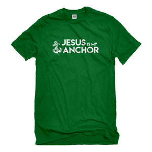 Mens Jesus is My Anchor Unisex T-shirt