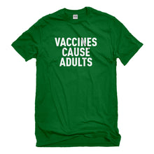 Mens Vaccines Cause Adults Unisex T-shirt