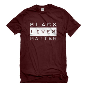 Mens Black Lives Matter Activism Unisex T-shirt