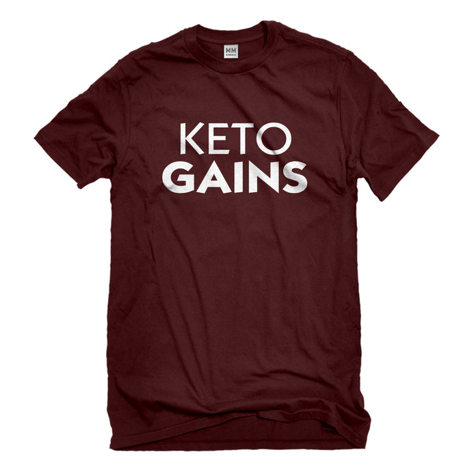 Mens Keto Gains Unisex T-shirt