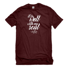 Mens It is Well with My Soul Unisex T-shirt
