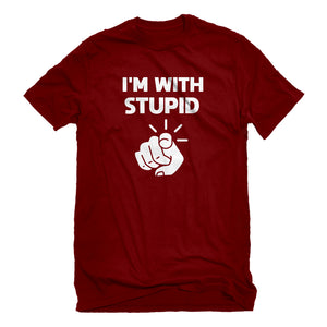 Mens I'm With Stupid You Unisex T-shirt