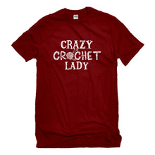 Mens Crazy Crochet Lady Unisex T-shirt