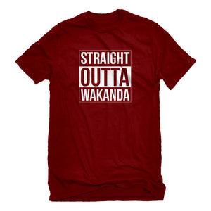 Mens Straight Outta Wakanda Unisex T-shirt