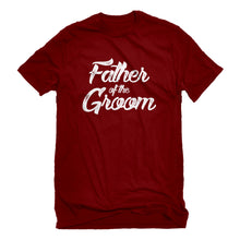 Mens Father of the Groom Unisex T-shirt