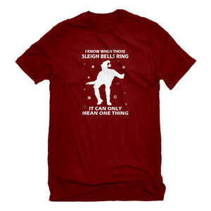 Mens When Those Sleigh Bells Ring (was 3109) Unisex T-shirt