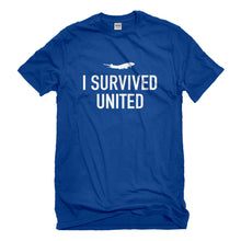 Mens I Survived United Unisex T-shirt
