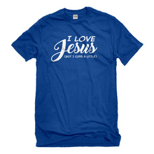 Mens I Love Jesus but I Cuss a Little Unisex T-shirt