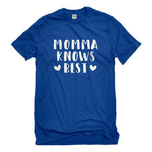 Mens Momma Knows Best Unisex T-shirt