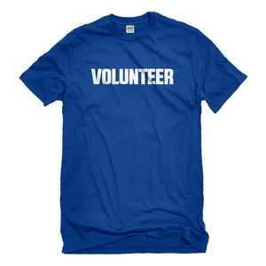 Mens Volunteer Unisex T-shirt