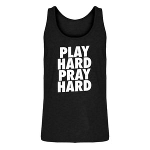 Tank Play Hard Pray Hard (was 7006) Mens Jersey Tank Top