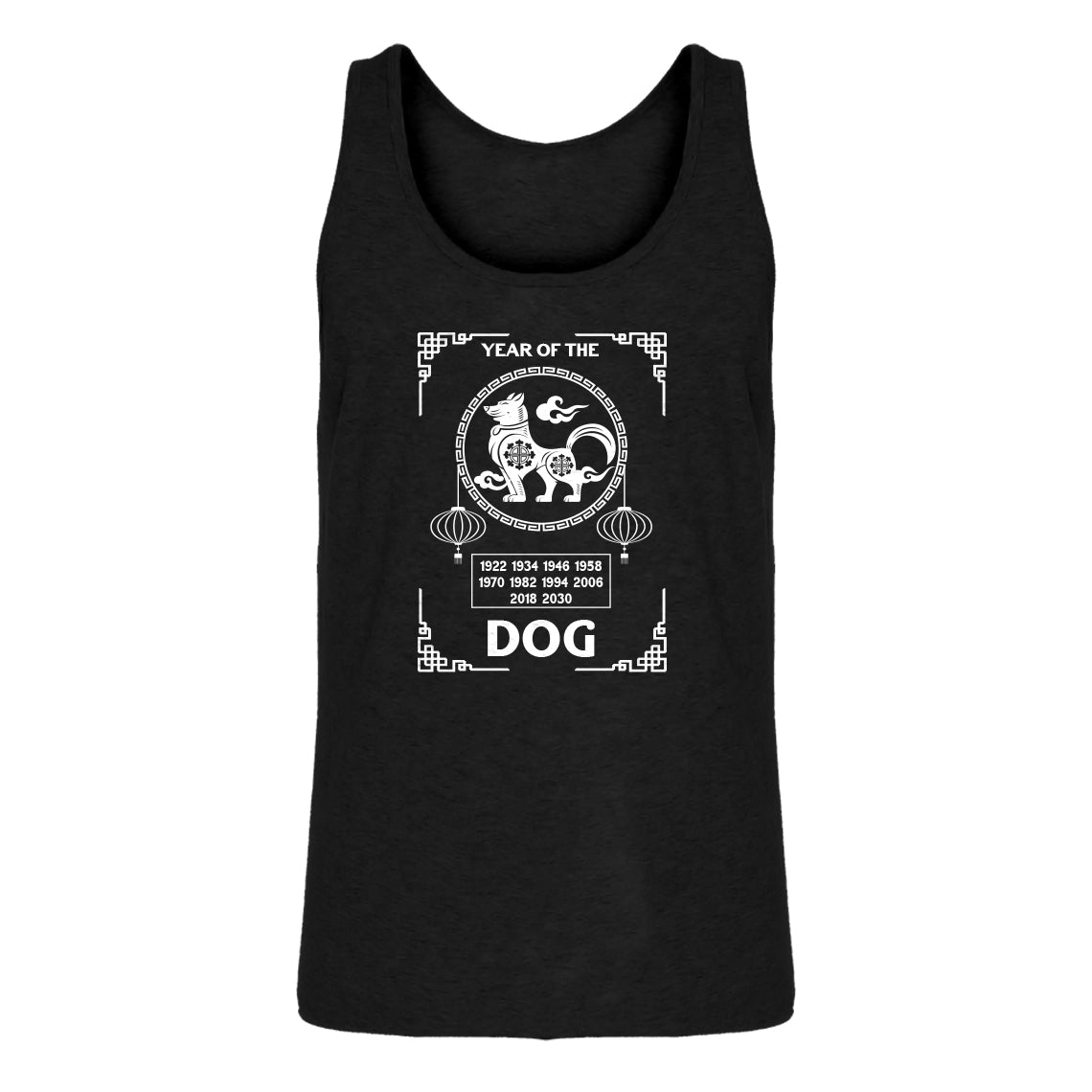 Tank Year of the Dog Mens Jersey Tank Top