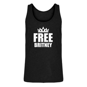 Mens FREE BRITNEY Jersey Tank Top