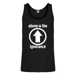 Tank Above the Ignorance Mens Jersey Tank Top