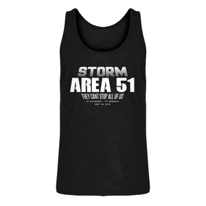 Mens Storm Area 51 They Can't Stop Us All Jersey Tank Top