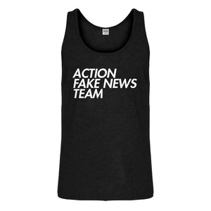 Tank Action Fake News Team Mens Jersey Tank Top