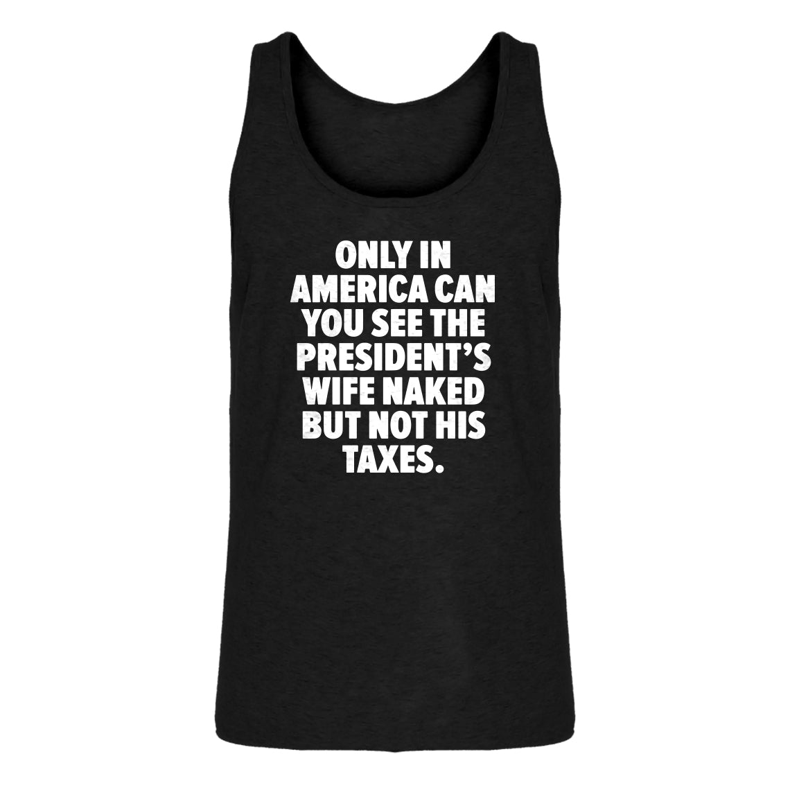 Mens Only in America Jersey Tank Top