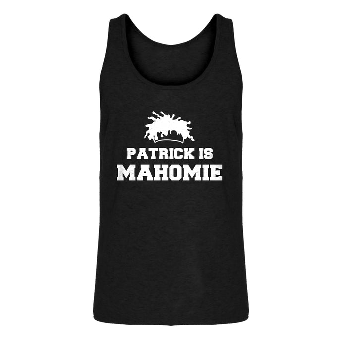 Mens Patrick is Mahomie Jersey Tank Top