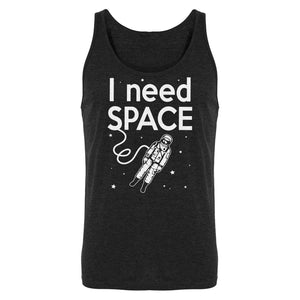 Tank I Need SPACE Mens Jersey Tank Top