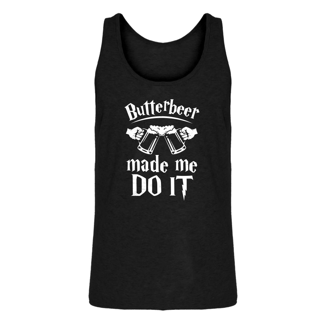 Tank Butterbeer Made Me Do It Mens Jersey Tank Top