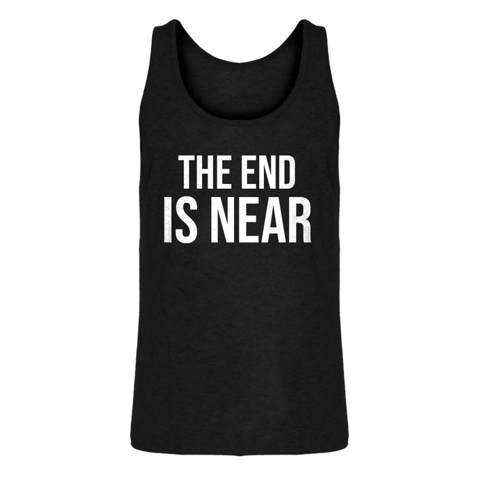Mens The End is Near Jersey Tank Top