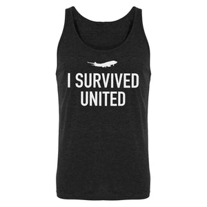 Tank I Survived United Mens Jersey Tank Top