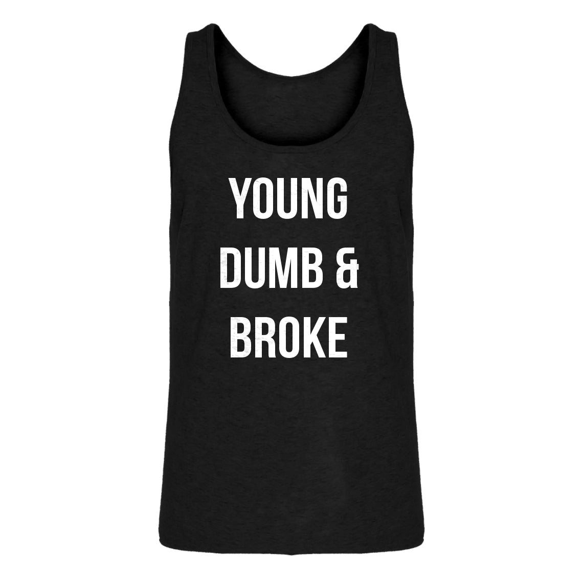 Tank Young Dumb & Broke Mens Jersey Tank Top