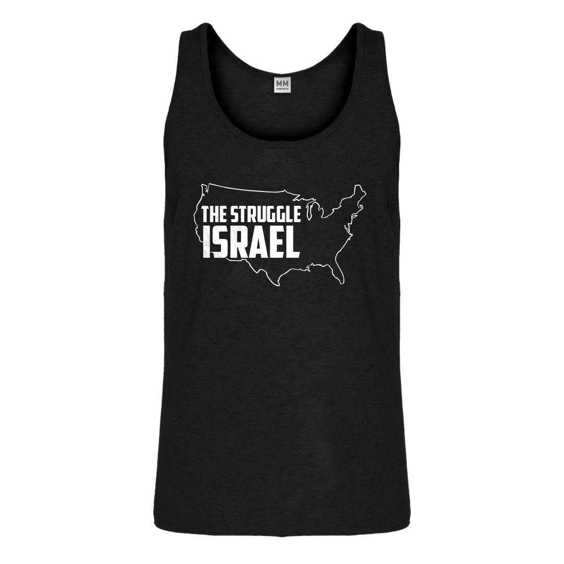 Tank The Struggle Israel Mens Jersey Tank Top