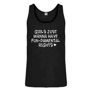 Tank Girls Wanna Have Fundamental Rights Mens Jersey Tank Top