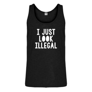 Tank I just Look Illegal Mens Jersey Tank Top