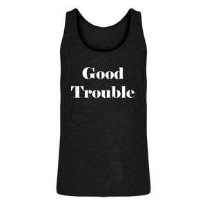 Mens Good Trouble Jersey Tank Top
