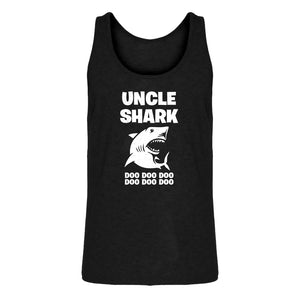 Mens Uncle Shark Jersey Tank Top