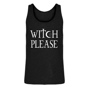 Tank Witch Please Mens Jersey Tank Top