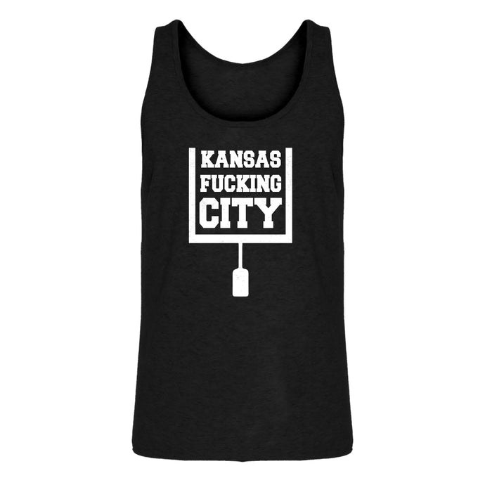 Mens Kansas Fucking City Jersey Tank Top
