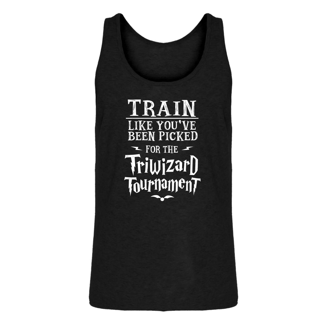 Tank Train for Triwizard Tournament Mens Jersey Tank Top