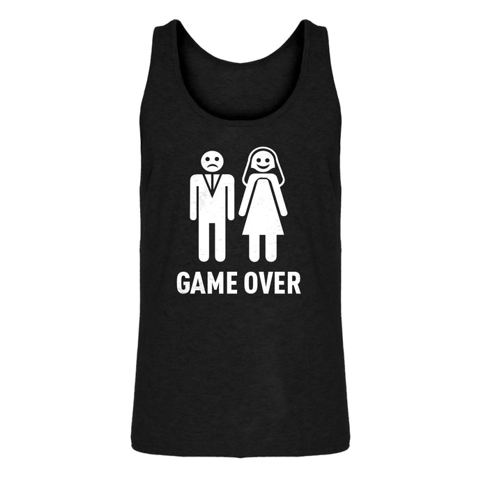 Mens Game Over Jersey Tank Top