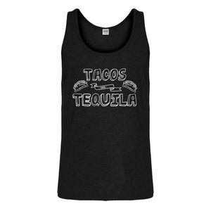 Tank Tacos and Tequila Mens Jersey Tank Top