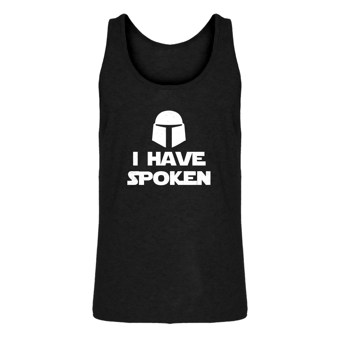 Mens I Have Spoken Jersey Tank Top