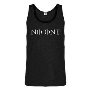 Tank No One Mens Jersey Tank Top