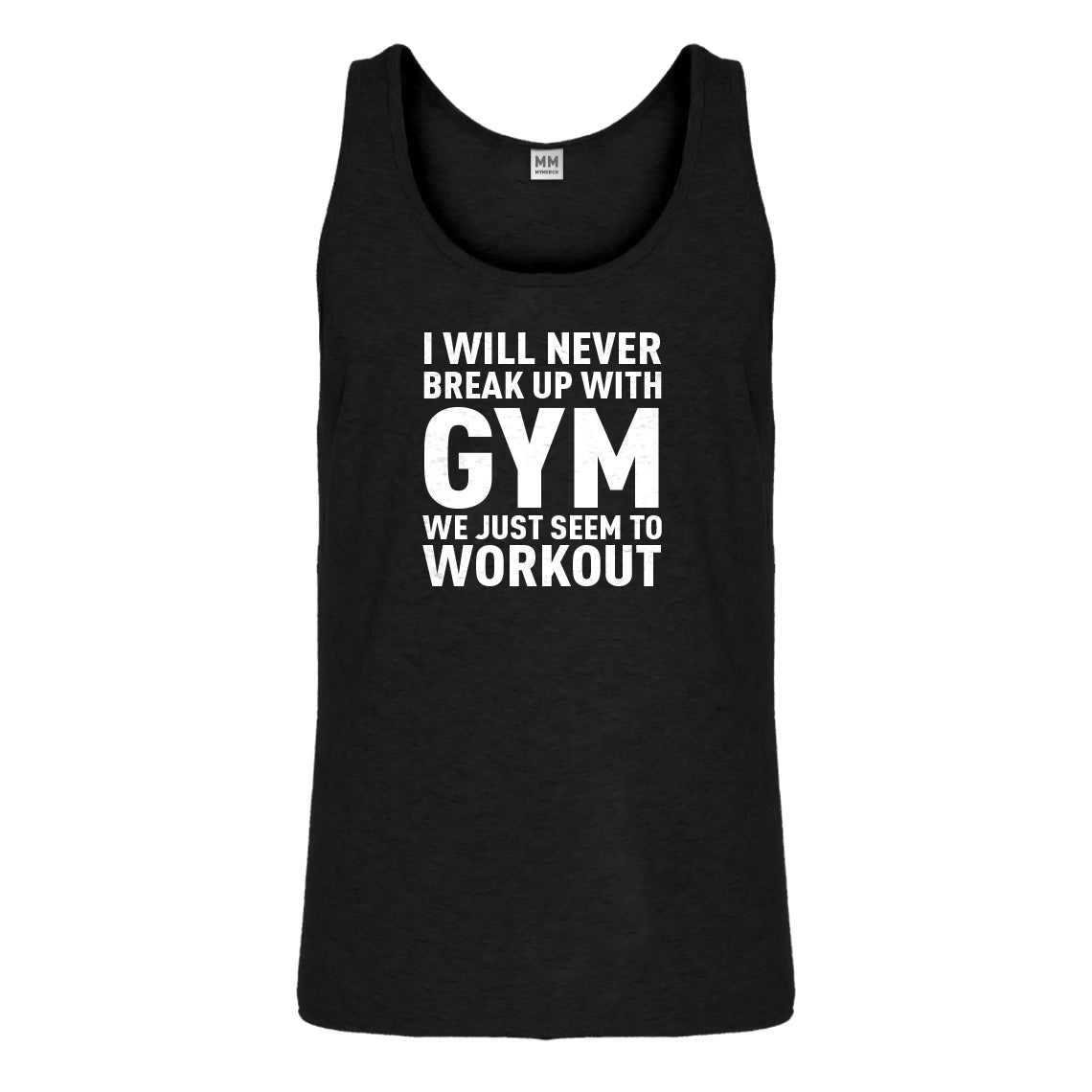 Tank Never Break Up With Gym Mens Jersey Tank Top