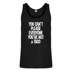 Tank Youre not a Taco Mens Jersey Tank Top