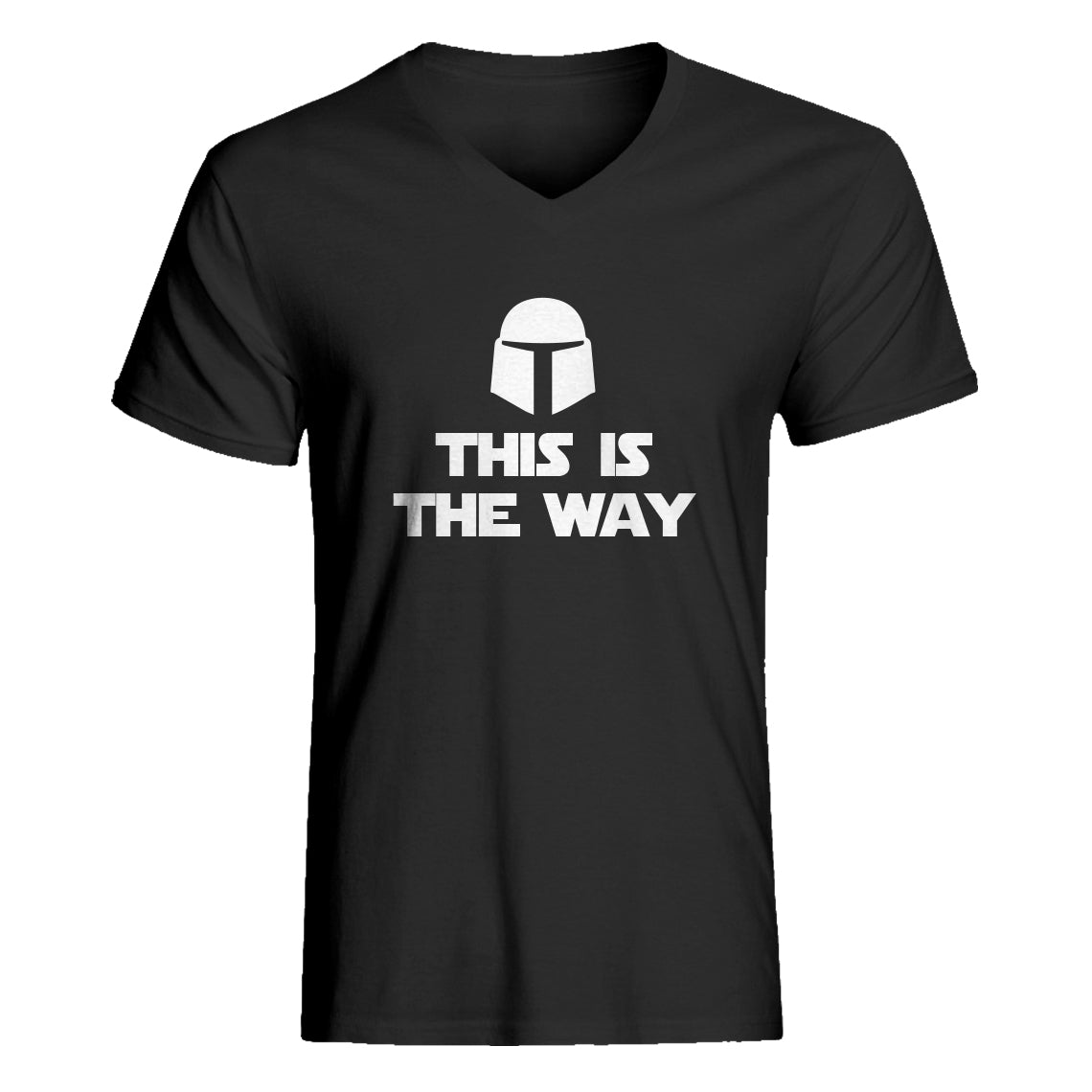 Mens This is the Way V-Neck T-shirt