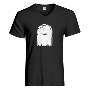 Mens You're Dead to Me Vneck T-shirt