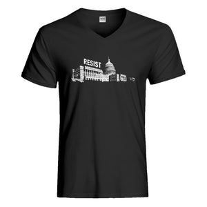 Mens Resist Capitol Vneck T-shirt