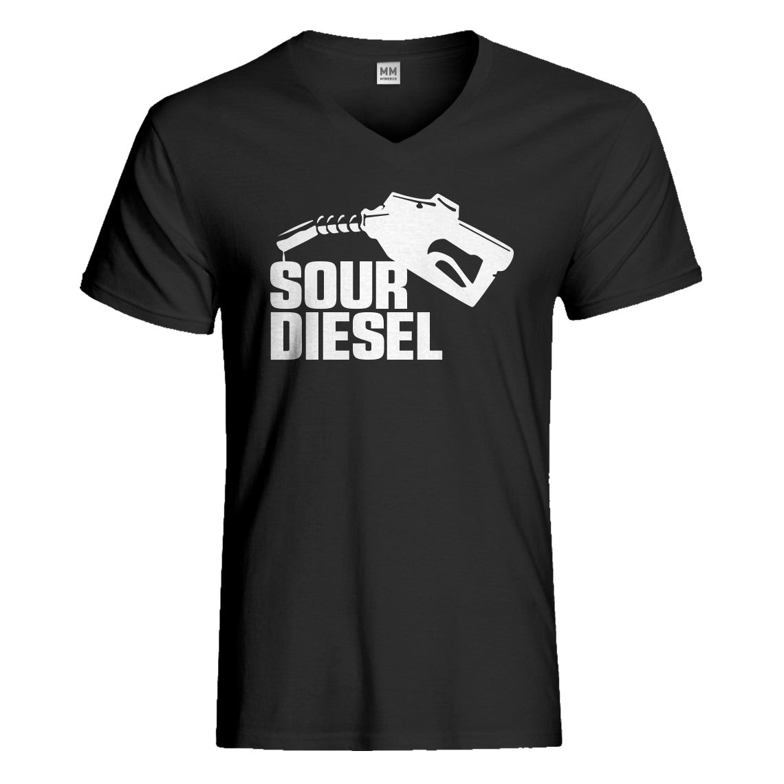 Mens Sour Diesel Vneck T-shirt