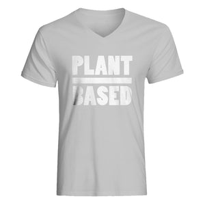 Mens Plant Based Vneck T-shirt