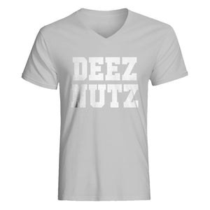 Mens Deez Nuts Vneck T-shirt