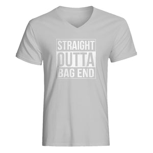 Mens Straight Outta Bag End Vneck T-shirt